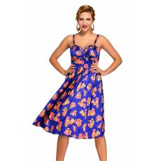 Virágos pin-up nyári ruhácska