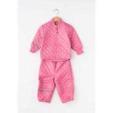 CeLaVi Kids Pink Quilted Jacket&Pants Set (3555-570-CHATEAU-ROSE-92)