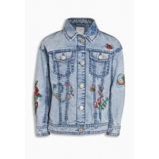 Next TBC NEXT Denim Embroidered Western Jacket (3-16yrs) 5 (941404-BLUE-5)