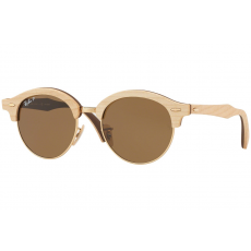 Ray-Ban Clubround Wood RB4246M 117957 Polarized