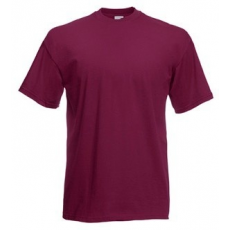 Fruit of the Loom 61-036 Valueweight T póló BURGUNDY S-XXL méretek 165g/m2