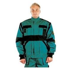 MV zöld/fekete MAX kabát 44-68 méretek