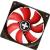 Xilence XF010 80x80x25 Red LED ventilátor