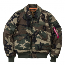Alpha Industries CWU VF TT - wood camo