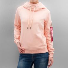 Alpha Industries X-Fit Hoody női - apricot