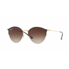 Ray-Ban RB3578 900913 GOLD TOP BROWN BROWN GRADIENT DARK BROWN napszemüveg