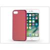 Haffner Apple iPhone 7 szilikon hátlap - Jelly Flash Mat - piros