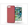 Haffner Apple iPhone 7 Plus szilikon hátlap - Jelly Flash Mat - piros