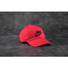 Nike Futura Washed Heritage86 Cap Red/ Black