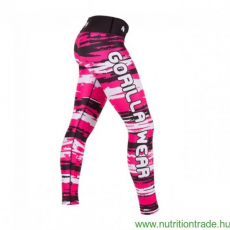 Gorilla Wear SANTA FE TIGHTS fekete/pink XS leggings Gorilla Wear