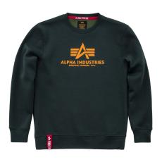 Alpha Indsutries Basic Sweater - dark petrol
