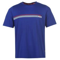 Lonsdale 2 Stripe férfi póló kék XXL