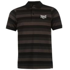 Everlast Stripe férfi galléros póló fekete 4XL