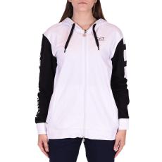 Emporio Armani Sweatshirt női cipzáras pulóver fehér XL