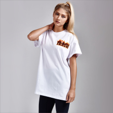SportFX Edition Trashed női póló fehér S