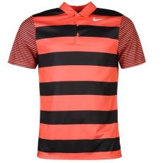 Nike Bold Stripe Golf férfi póló korall S