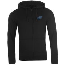 Oneill Logo férfi kapucnis cipzáras pulóver fekete XXL