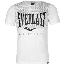 Everlast Logo férfi kereknyakú pamut póló fehér XXL