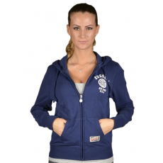 Russell Athletic Női cipzáras pulóver kék XL