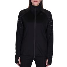 Adidas Performancetrac női cipzáras pulóver fekete XL