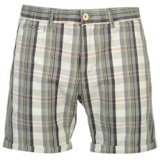 Pierre Cardin YD Check férfi kockás rövidnadrág sötétszürke XXL