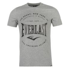 Everlast Logo férfi kereknyakú pamut póló szürke XXL