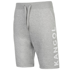 Kangol Large Logo férfi rövid melegítőnadrág szürke L