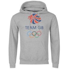 Team GB OTH férfi kapucnis pulóver szürke M