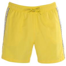 Calvin Klein Taped férfi hálós úszóshort sárga S