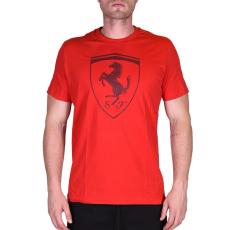 Puma Ferrari Big Shield Tee férfi póló piros XL