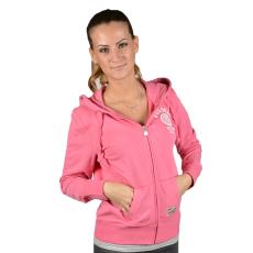 Russell Athletic Női cipzáras pulóver rózsaszín L