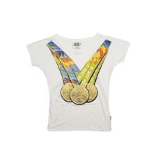Dorko Olimpia Noi T-shirt női póló fehér L