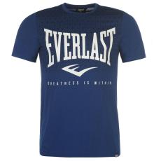 Everlast Logo férfi kereknyakú pamut póló S