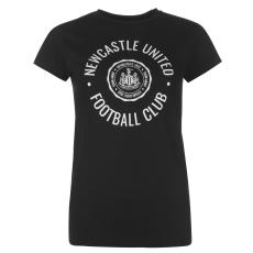 NUFC Graphic női póló fekete L