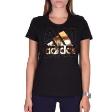 Adidas Foil Logo női póló fekete M