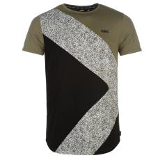 Fabric Splttr Panl T Sn73 férfi póló keki L