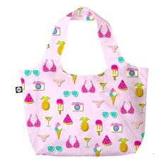 BG Berlin Pink Summer 3 in 1 táska mintás