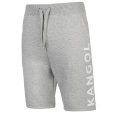 Kangol Large Logo férfi rövid melegítőnadrág szürke XL