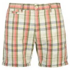 Pierre Cardin YD Check férfi kockás rövidnadrág piros L