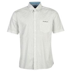 Pierre Cardin Sleeve Geo férfi ing fehér pöttyös XL