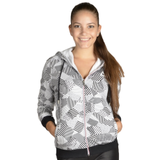 Le Coq Sportif Core Fancy Maric Fz Hood W női cipzáras pulóver szürke M