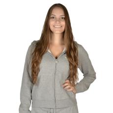 Russell Athletic Női cipzáras pulóver szürke XXL