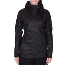 Adidas Climastorm Flc női cipzáras pulóver fekete L