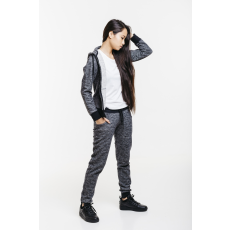 Dorko Basic Sweat Hoody Gray Marl női cipzáras pulóver szürke S