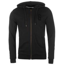 Only and Sons Drake férfi kapucnis cipzáras pulóver fekete XL