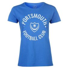 Team Pompey Graphic női póló királykék M