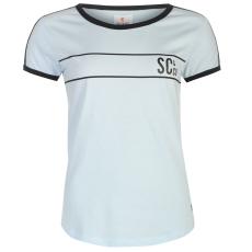 SoulCal Deluxe Baseball Strip női póló kék L