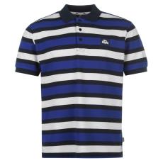 Lonsdale Férfi galléros póló kék L