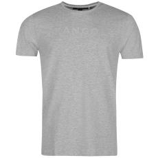Kangol Linear Logo férfi póló szürke M
