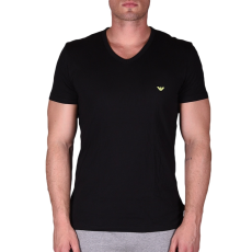 Emporio Armani Mens Knit T-shirt férfi alsónadrág fekete XL